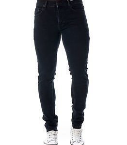 Knowledge Cotton Apparel 5 Pocket Slim Stretch Denim Indigo