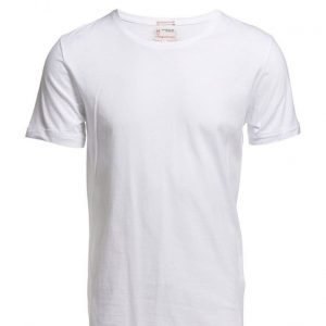 Knowledge Cotton Apparel Basic Regular Fit O-Neck Tee Gots lyhythihainen t-paita