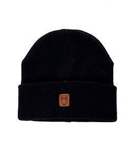 Knowledge Cotton Apparel Beanie Hat Total Eclipse