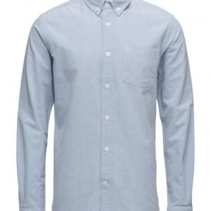 Knowledge Cotton Apparel Button Down Oxford Shirt Gots