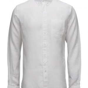 Knowledge Cotton Apparel Linen Shirt
