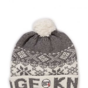 Knowledge Cotton Apparel Rib Knit Hat