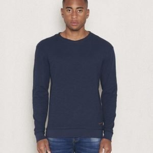 Knowledge Cotton Apparel Slope Sweat 1001 Navy