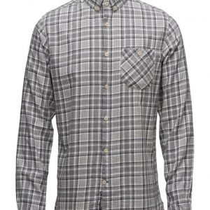Knowledge Cotton Apparel Small Checked Flannel Shirt Gots