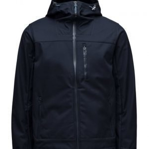 Knowledge Cotton Apparel Soft Shell Jacket Water Proof kevyt takki