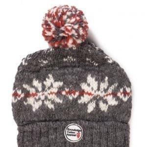 Knowledge Cotton Apparel Star Pattern Tassel Hat