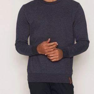Knowledge Cotton Apparel Sweater In Melange Mixed Pusero Eclipse