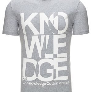 Knowledge Cotton Apparel T-paita
