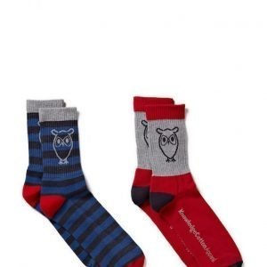 Knowledge Cotton Apparel Tennis Socks 2pack nilkkasukat
