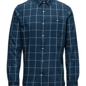 Knowledge Cotton Apparel Yarndyed Checked Shirt Gots