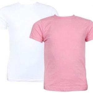 Kuling Basic T-paita 2 kpl Kirsikka/Valkoinen
