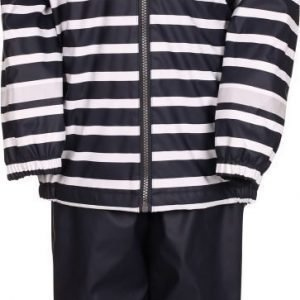 Kuling Outdoor Sadeasu Fleece Stripe Navy Navy