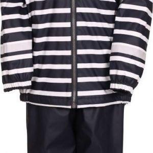 Kuling Outdoor Sadeasu Fleece Stripe Navy Pink