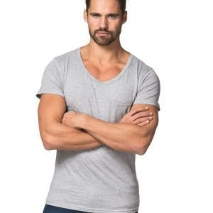 Kvarn Hans Tee Light Grey Melange