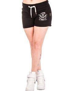 L.A Chica Sweat Shorts Black