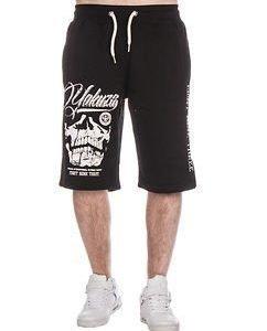L.A Skull Sweat Shorts Black
