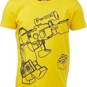LEGO Wear T-paita Tony 616 Dark Yellow