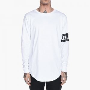 LES ARTISTS Box Logo Long Sleeve Tee