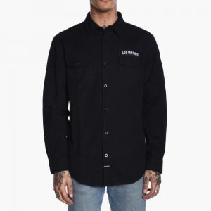 LES ARTISTS Canvas Patch Shirt