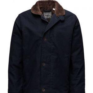 LEVI´S Men Deck Coat Nightwatch Blue kevyt takki