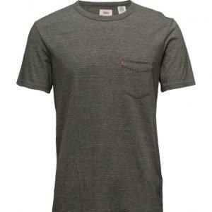 LEVI´S Men Ss Sunset Pocket Tee Olive Nig lyhythihainen t-paita