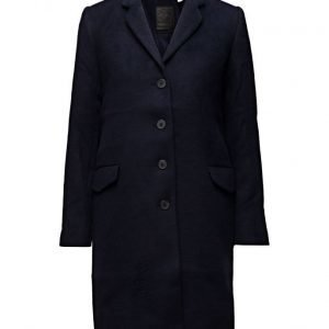 LEVI´S Women Long Wool Coat Nightwatch Blue villakangastakki