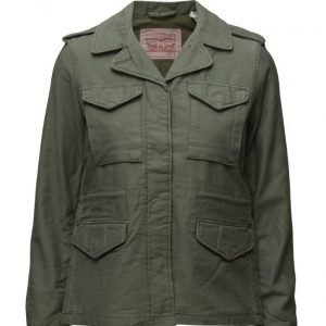 LEVI´S Women Surplus Jacket Bronze Green kevyt takki
