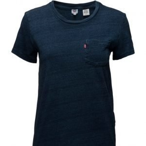 LEVI´S Women The Perfect Pocket Tee Deep Mi