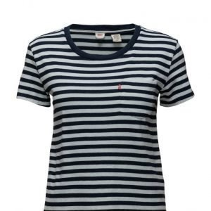 LEVI´S Women The Perfect Pocket Tee Indigo