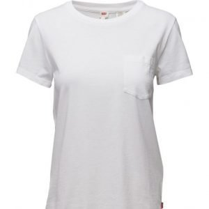 LEVI´S Women The Perfect Pocket Tee White C