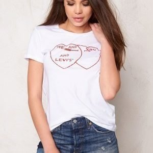 LEVI'S The Perfect Tee You Me 0235 White