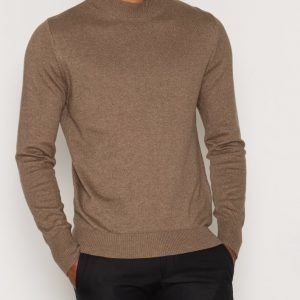 L'Homme Rouge Galopp Sweater Pusero Vaaleanruskea