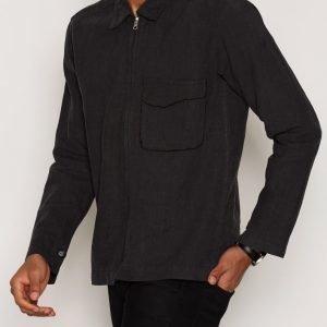 L'Homme Rouge Garden Layer Jacket Takki Musta