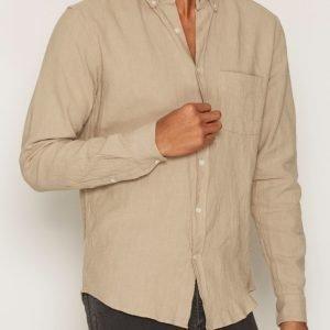 L'Homme Rouge Needs Crêpe Shirt Kauluspaita Green