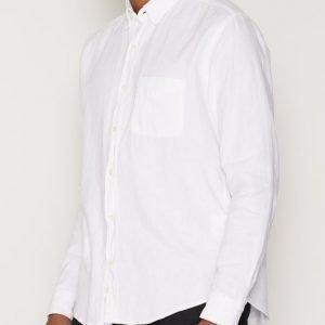 L'Homme Rouge Needs Crêpe Shirt Kauluspaita Valkoinen