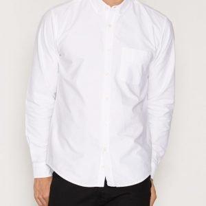 L'Homme Rouge Needs Oxford Shirt Kauluspaita Valkoinen