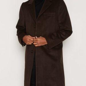 L'Homme Rouge Sense Coat Takki Ruskea