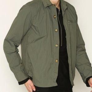L'Homme Rouge Shell Jacket Takki Green
