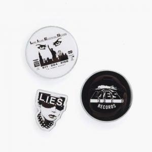 L.I.E.S. L.I.E.S. Pin Set
