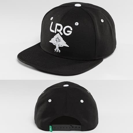 LRG Snapback Lippis Musta