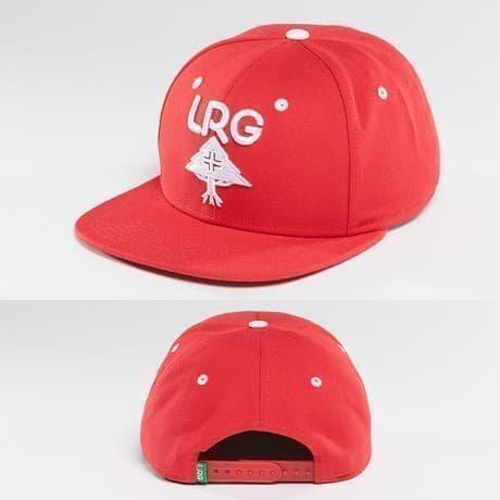 LRG Snapback Lippis Punainen