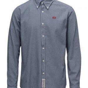 La Martina La Martina-Man Shirt L/S Vichy Twill
