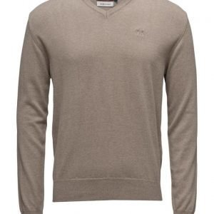 La Martina La Martina-Man V Neck Sweat.Mixed Wool/Co v-aukkoinen neule