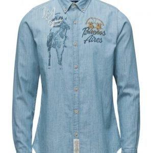 La Martina Man Shirt Ls