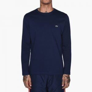 Lacoste Long Sleeve Crewneck T-Shirt