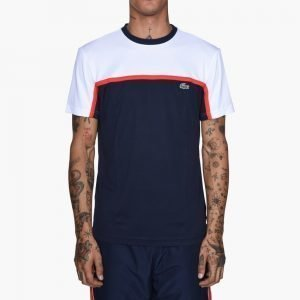 Lacoste Ultra Dry Color Block Tennis T-Shirt