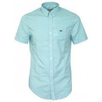 Lacoste chemise CH2561 blanche kauluspaita