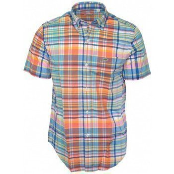 Lacoste chemise CH2561 blanche lyhythihainen paitapusero