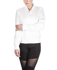 Ladies Light Bomber White
