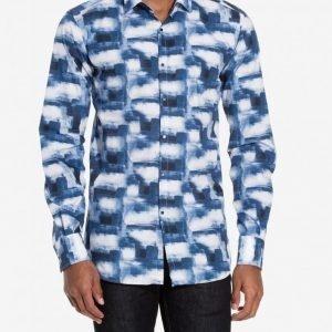 Lagerfeld Shirt Ultra Kauluspaita Navy